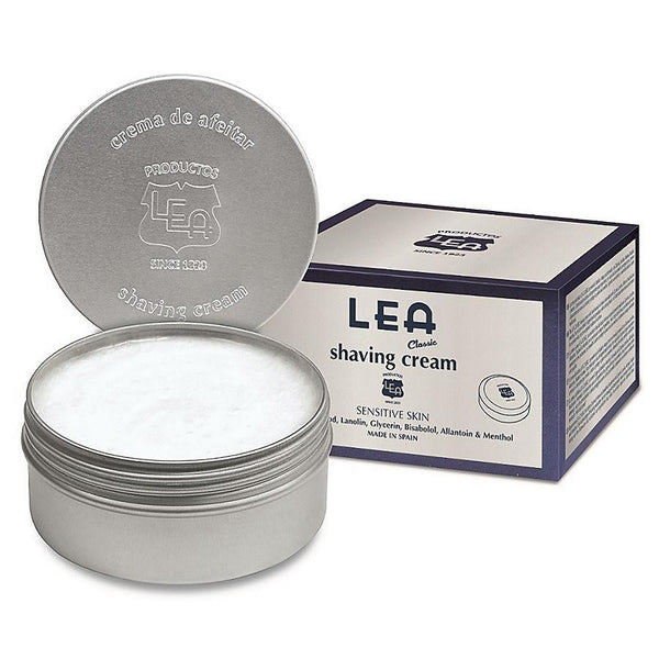 LEA CLASSIC SHAVING CREAM IN METALLIC TUB (150G/5.29OZ) - Prohibition Style