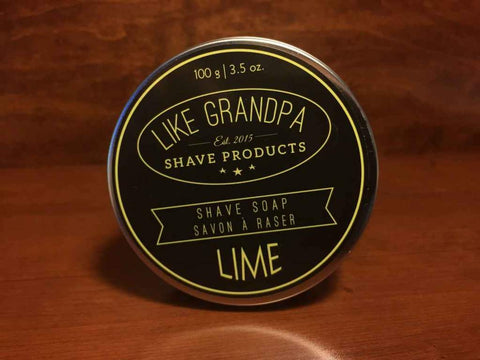 Like Grandpa Shave Soap - Eucalyptus - Prohibition Style