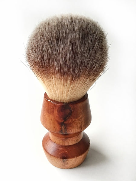 "Paragon - ""Plisson"" type Synthetic 28mm - Paragon Handle Shaving Brush - Prohibition Style"