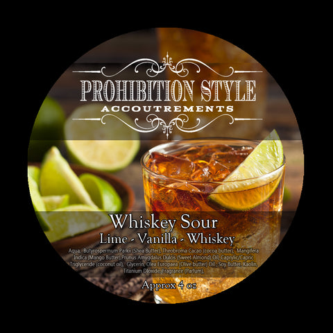 Prohibition Style - Premium Vegan Shave Soap - Whiskey Sour - Prohibition Style