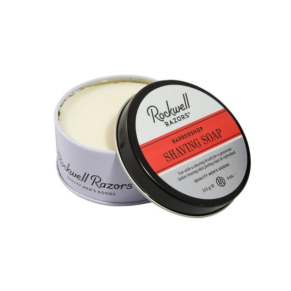 ROCKWELL SHAVE SOAP - BARBERSHOP SCENT - Prohibition Style