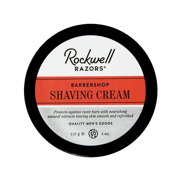 ROCKWELL SHAVE CREAM - BARBERSHOP SCENT - Prohibition Style