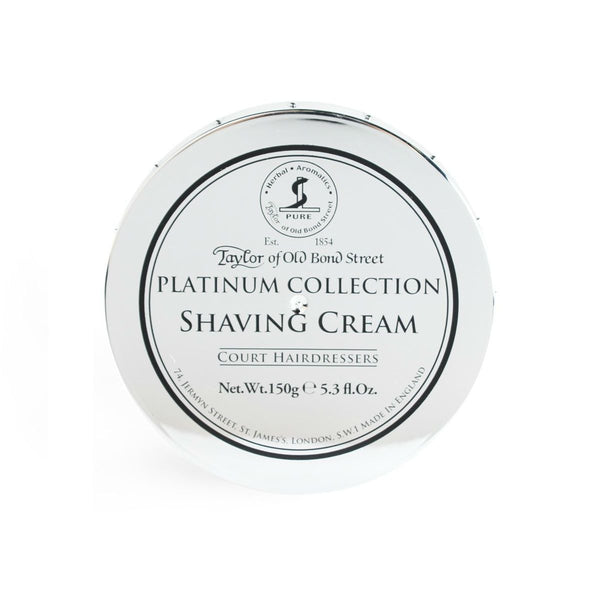 TAYLOR OF OLD BOND STREET PLATINUM COLLECTION SHAVING CREAM BOWL - Prohibition Style