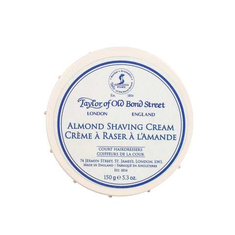 TAYLOR OF OLD BOND STREET SHAVING CREAM BOWL - ALMOND - Prohibition Style