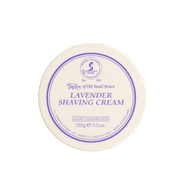 TAYLOR OF OLD BOND STREET SHAVING CREAM BOWL - LAVENDER - Prohibition Style