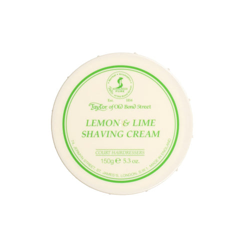 TAYLOR OF OLD BOND STREET SHAVING CREAM BOWL - LEMON AND LIME - Prohibition Style