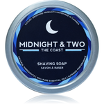 Midnight & Two  SHAVING SOAP - THE COAST (4OZ) - Prohibition Style