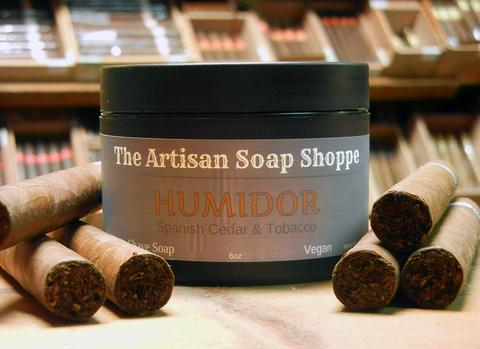 Artisan Soap Shoppe - Classic Shaving Soap - Multiple Scents - Prohibition Style