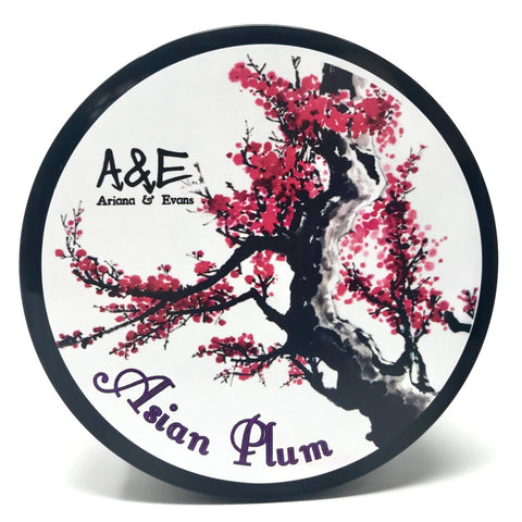 Ariana and Evans - Asian Plum Shaving Soap - Prohibition Style