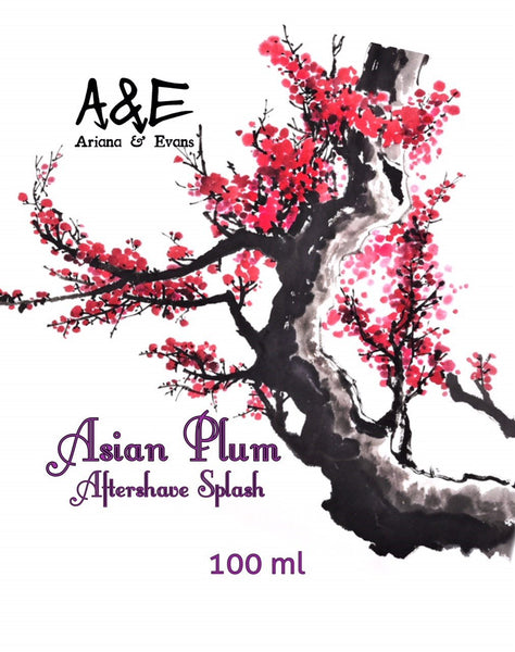 Ariana and Evans - Asian Plum Shaving Aftershave Splash & Skin Food - Prohibition Style