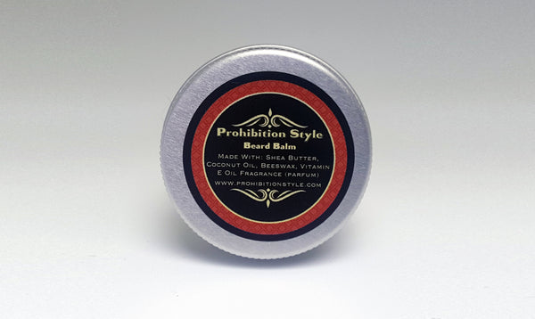 Prohibition Style - Beard Balm - Honey Bourbon Scented