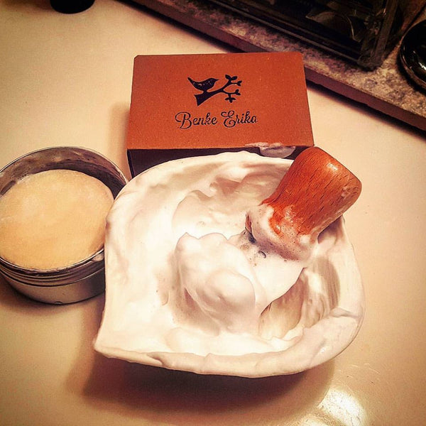 Benke Erika Shave Soap - One of the top rated Shave Soaps In Europe (made in Hungary) - Prohibition Style