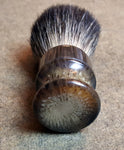 Prohibition Style Pure Badger Faux Horn Shaving Brush - Prohibition Style