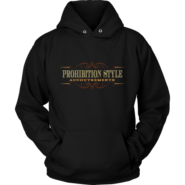 Prohibition Style Logo Hoodie