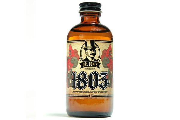 DR. JON'S 1803 AFTERSHAVE TONIC - Prohibition Style