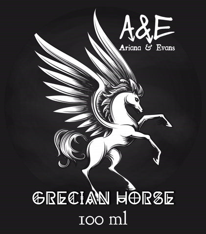 Ariana and Evans - Grecian Horse Shaving Aftershave Splash & Skin Food - Prohibition Style