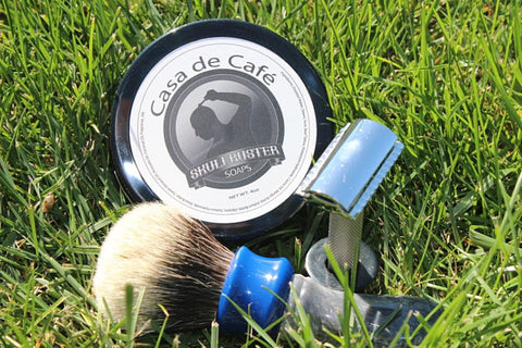 SkullBuster Soaps - Casa de Cafe - Shaving Soap - Prohibition Style