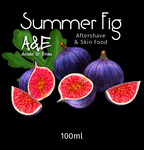 Ariana and Evans - Summer Fig Shaving Aftershave Splash & Skin Food - Prohibition Style