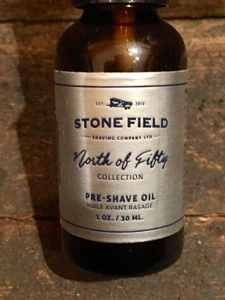 Stone Field - North of Fifty Collection Pre-Shave Oil