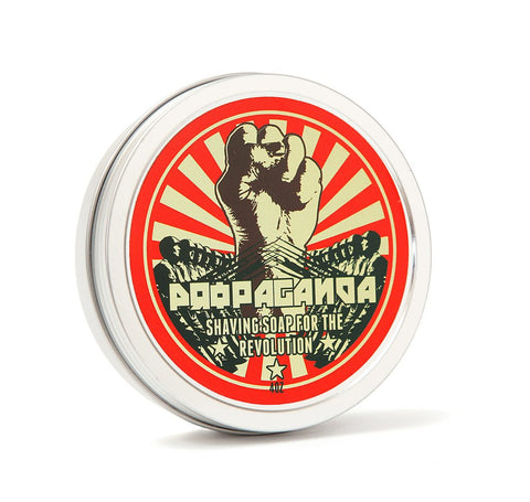 DR. JON'S PROPAGANDA NATURAL VEGAN SHAVING SOAP VOL. 2 - Prohibition Style