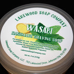 Lakewood Soap Company - Wasabi - Shave Soap - Prohibition Style