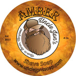 UNCLE JON'S NATURAL SHAVE SOAP - AMBER - Prohibition Style