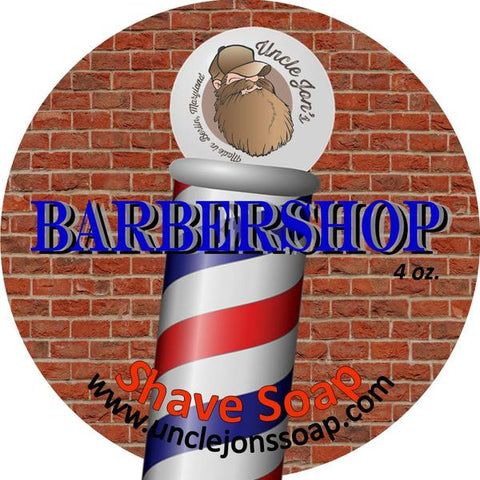 UNCLE JON'S AFTERSHAVE - BARBERSHOP - Prohibition Style