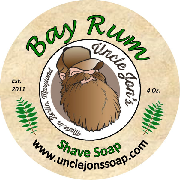 UNCLE JON'S AFTERSHAVE - BAY RUM - Prohibition Style