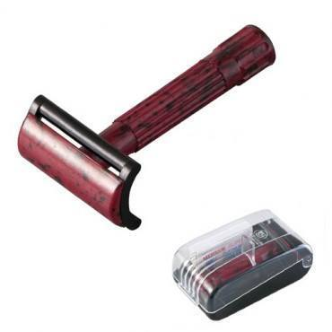 MERKUR 45 BAKELITE DOUBLE-EDGE SAFETY RAZOR WITH CASE MK-45030 - Prohibition Style