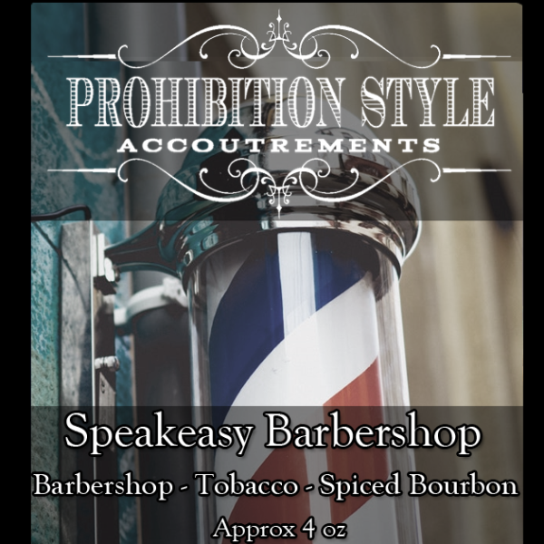 Prohibition Style - Aftershave Balm - Speakeasy Barbershop