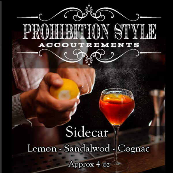 Prohibition Style - Aftershave Balm - Sidecar
