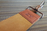 High Quality Leather Strop Double Layer Razor With Cloth Backing - Prohibition Style