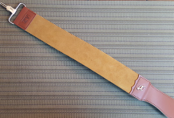 High Quality Leather Strop Double Layer Razor With Cloth Backing