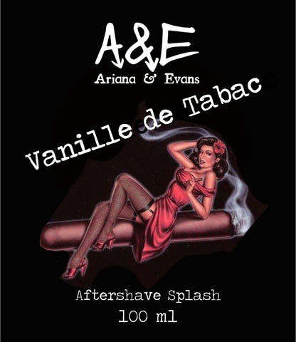 Ariana and Evans - Vanille de Tabac Shaving Aftershave Splash & Skin Food - Prohibition Style