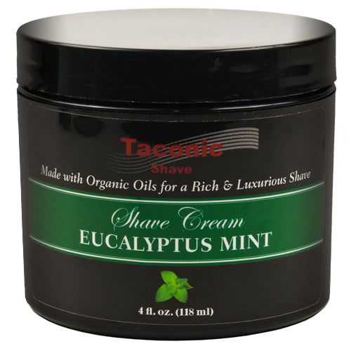 TACONIC EUCALYPTUS AND MINT SHAVING CREAM - Prohibition Style
