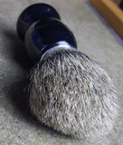Prohibition Style - Pure Badger 2 Band and Black Badger Shave Brushes - Prohibition Style