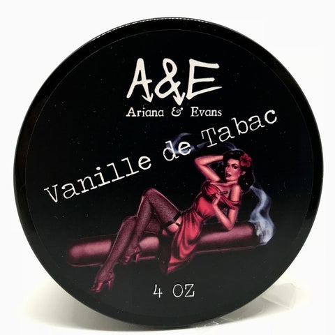 Ariana and Evans - Vanille de Tabac Shaving Soap - Prohibition Style