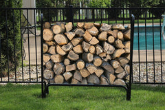 "Ashman Log Rack – Firewood Log Rack, Indoor & Outdoor Wood Stack Holder – Weighing 16 Pounds and Measuring - 49"" Long x 13.5"" Wide x 48"" Tall."