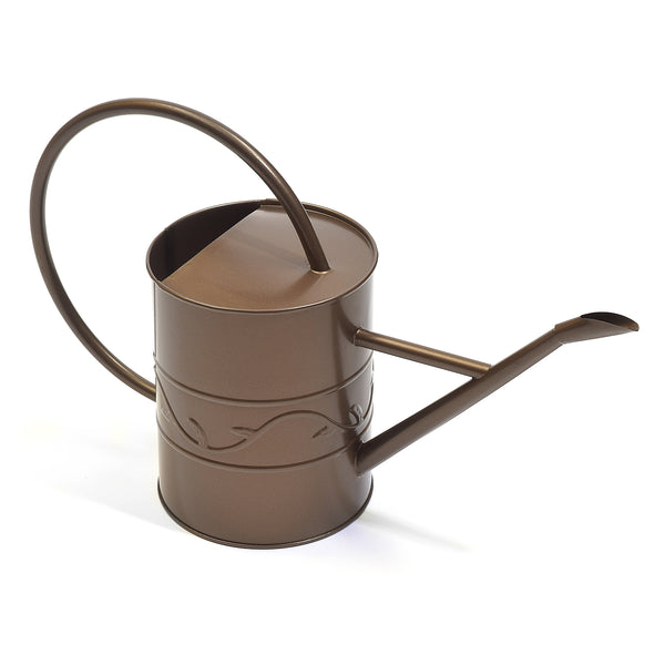 Ashman Bronze Watering Can for Outdoor and Indoor Plant Watering Use with 2 Litre Capacity. 100 Count