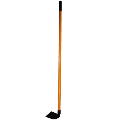 Ashman Garden Hoe – Sturdy Hand Tiller – Heavy Duty blade for Digging, Loosening Soil and Weeding – Equipped with Rubber Grip Handle for a strong hold when working – Rust Resistant Build