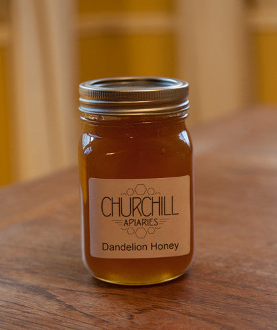 Raw Dandelion Honey