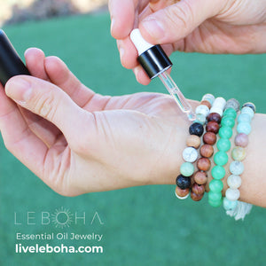 """How To"" for your essential oil bracelet"