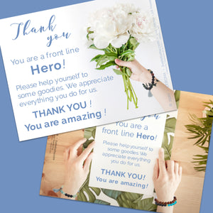 FREEBIE: Thank You Signs (print from home)