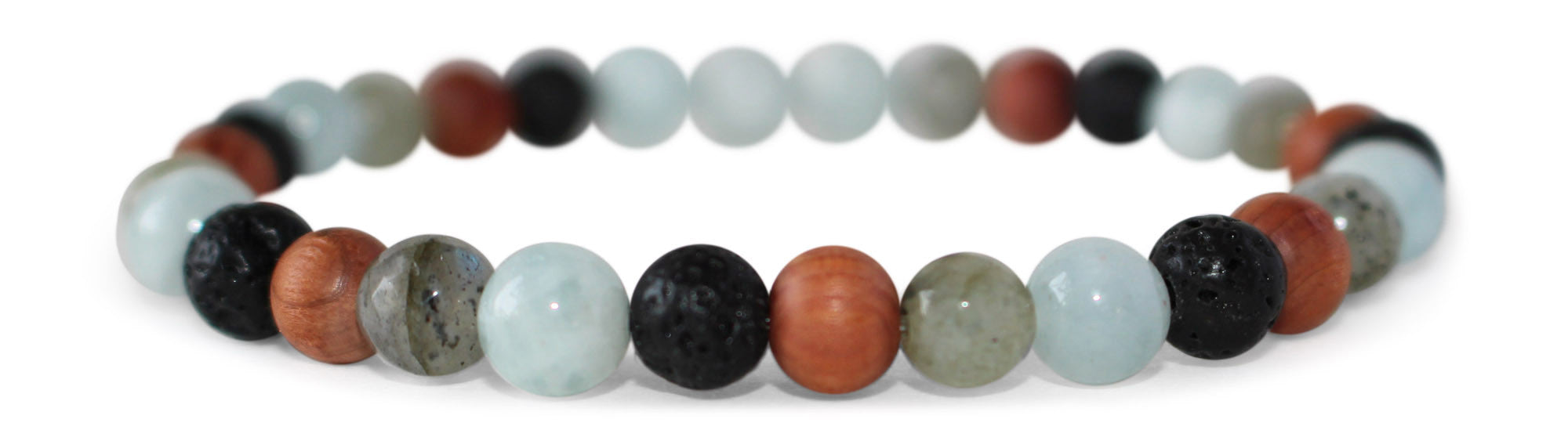 Dainty Multicolored Essential Oil [Diffuser] Bracelet