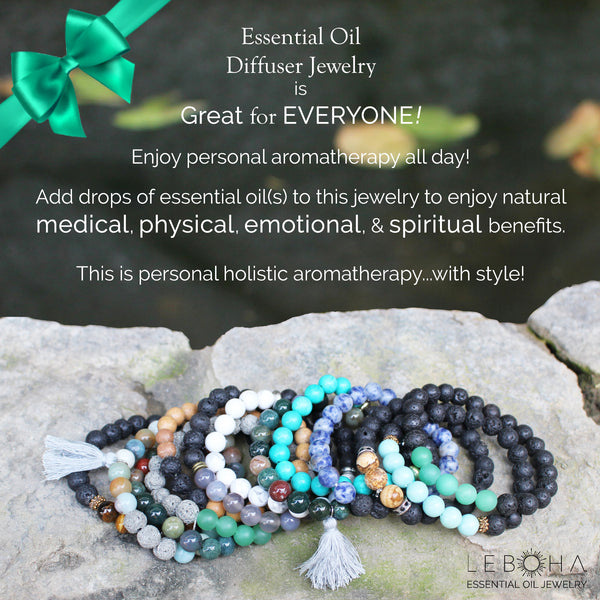 "Unisex Handmade Pyrite and Lava Rock ""Grounding"" Essential Oil [Diffuser] Bracelet"