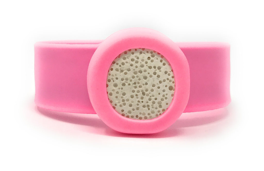 "Leboha ""Kids Collection"" Essential Oil Slap Bracelet With Lava Stone, Unisex"