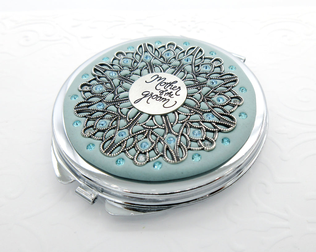Mother of the Groom Classic Compact Mirror