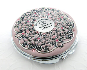 Mother and Son Extra Large Compact Mirror