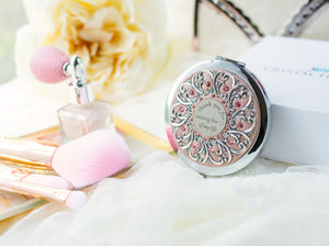 """Thank you for raising the love of my life"" Compact Mirror"