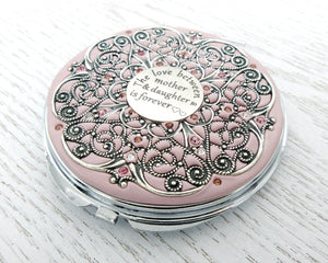 Mother and Daughter Extra Large Compact Mirror